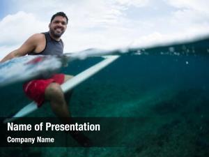 Waits happy surfer wave line