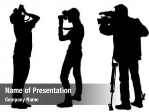 Work graphic cameraman