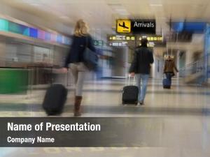 Airport airline passengers
