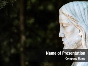 Christ statue jesus cemetery