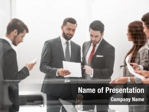 People group business discussing business