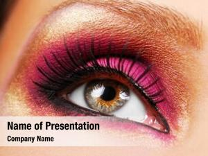 Make beautiful golden pink eyeshadow