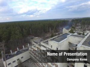 Communism destruction remnants (drone