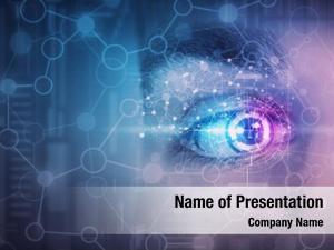 Eye male digital