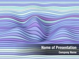 Wavy abstract colored lines,