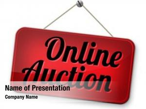 Bidding online auction