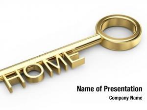 Key home gold white