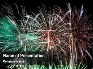 Celebration new year fireworks