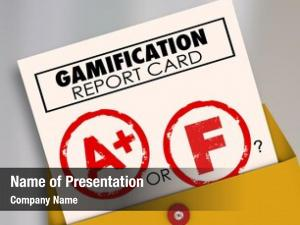 Card gamification report plus ask