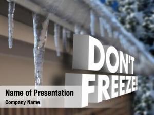 Dangerous frozen