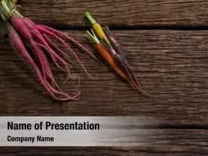 Root vegetables powerpoint background