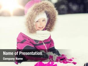 Childhood fashion powerpoint theme