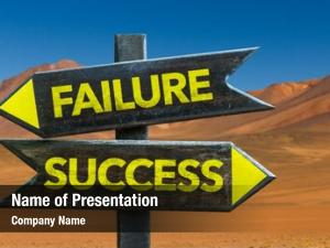 Signpost failure success desert