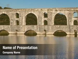 Maglova aqueduct powerpoint background