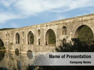 Maglova aqueduct powerpoint template