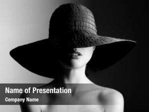 Photography fashion woman in hat