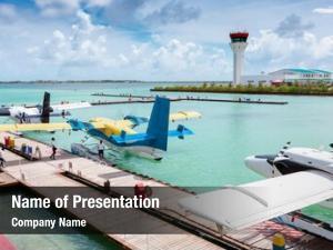Plane air taxi maldives