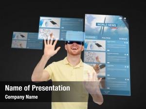 Reality, technology, virtual internet, mass