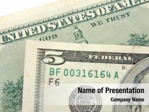 Five close dollar dollar bill