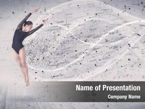 Dancer performance ballet jumping
