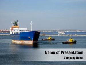 Ship towage transport port