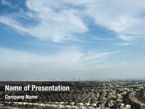 Vast panoramic powerpoint template