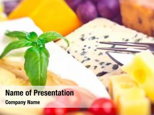 Photo of a tasty powerpoint template