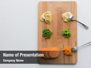 Concept healthy baby food