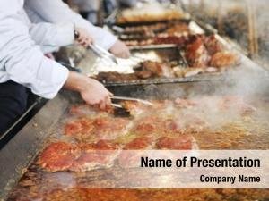 Food fresh meat grill man