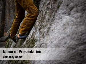 Climbing rock climber boulder rock