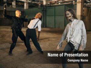 Nightmare, military man battle zombie