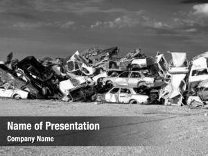 Cars old junk junkyard