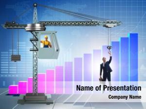 Promotion businessman career concept