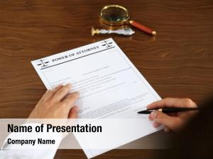 Signing notary public power attorney