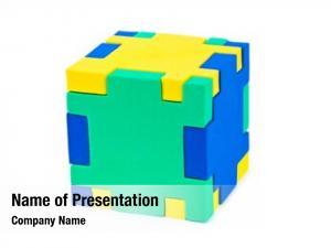 White cube puzzle