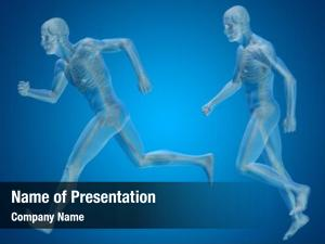 Man conceptual human male skeleton