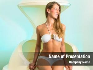 Woman wellness young floating spa
