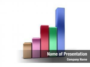 Showing business graph profits gains