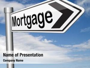 Loan mortgage house paying money