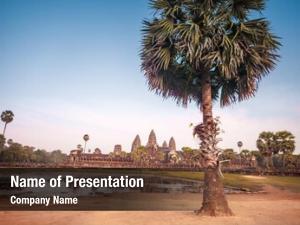 Reconstruction angkor wat temple