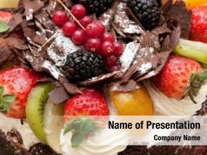 Cake studio photography cream fruit