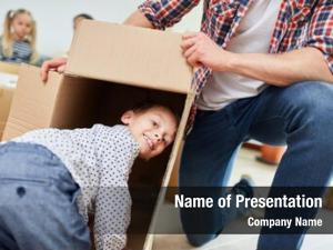 Play boy dad moving box