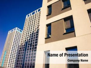 Condominiums ppt background