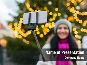 Photographing people holidays technology