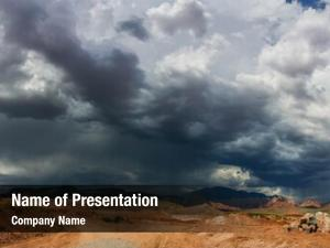 Ominous stormy powerpoint template