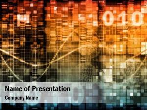 Themed technology theme background binary