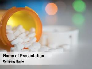 Pills medication pills bottle