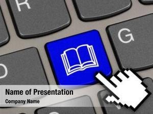Book computer keyboard key education