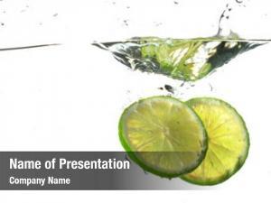 Splash lime water