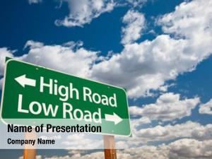 Low high road, road green